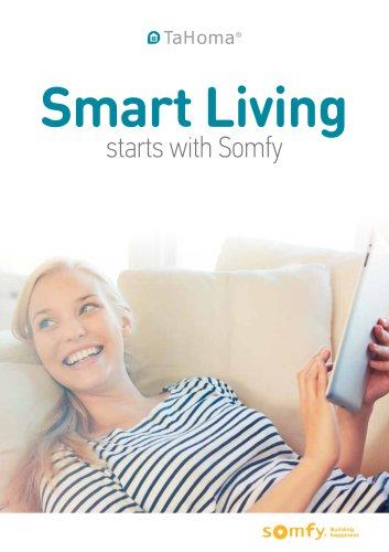 Smart Living starts with Somfy