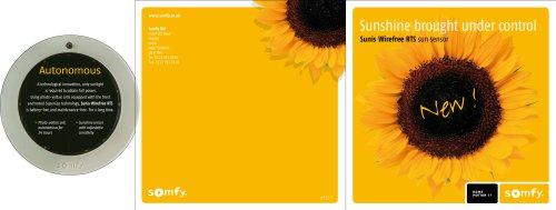 Sunis solar powered light sensor