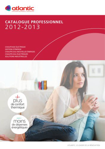 CATALOGUE PROFESSIONNEL 2012/2013