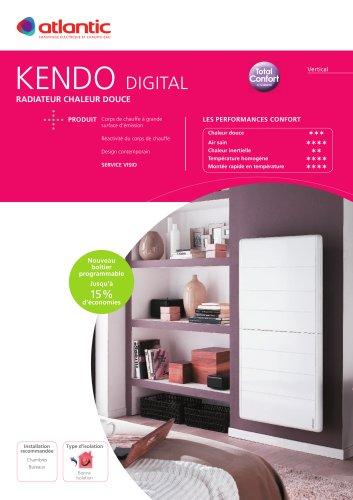 Chauffage électrique:KENDO DIGITAL VERTICAL