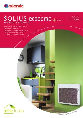 Chauffage électrique:SOLIUS ECO DOMO