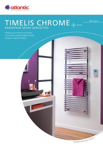 Sèche-serviette:TIMELIS Chrome