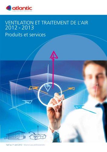 VENTILATION ET TRAITEMENT DE L?AIR 2012 - 2013