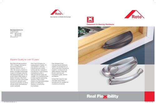 Casement & Awning Hardware