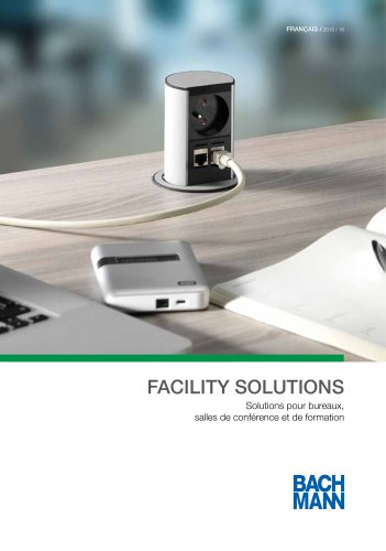 Catalogue FACILITY SOLUTIONS 2015/2016