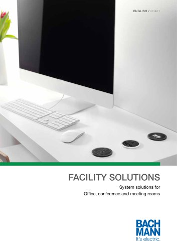Catalogue FACILITY SOLUTIONS UK 2016...