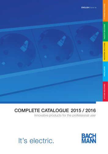 Catalogue General 2015/2016