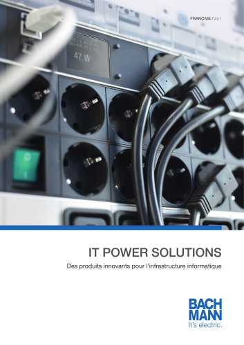Catalogue IT POWER SOLUTIONS