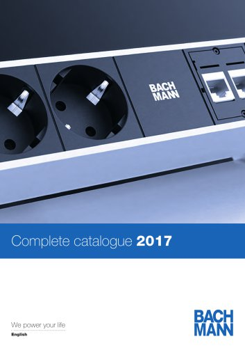 Complete Catalogue 2017