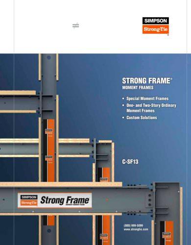 Strong Frame® Moment Frames