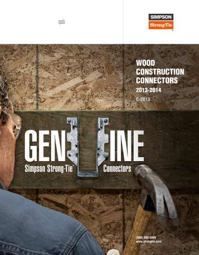 Wood Construction Connectors 2013-2014