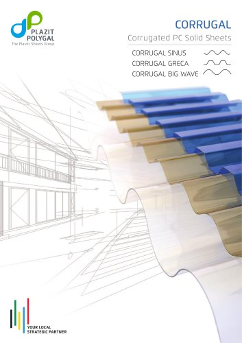 CORRUGAL – Corrugated Polycarbonate Sheets