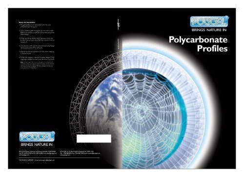Polycarbonate Profiles