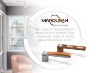 Catalogue Poignées Mandurah - 2