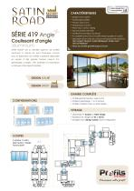 Coulissant d'angle Satin Road® - 1