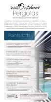 Dépliant Toitures BSO & Pergolas alu Wallis&Outdoor® - 2