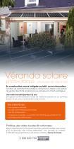 Dépliant Vérandas & Vérandas solaires Profils Systèmes - 5