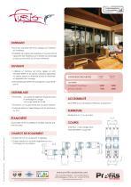 Furio® Baie coulissante alu sans rupture thermique - 2