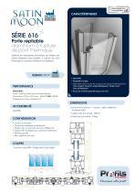 Porte repliable aluminium Satin Moon® - 1