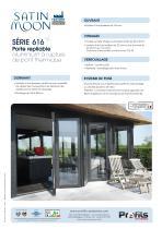 Porte repliable aluminium Satin Moon® - 2