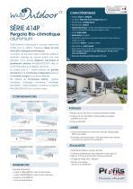 Toiture BSO & Pergola alu Wallis&Outdoor® - 1