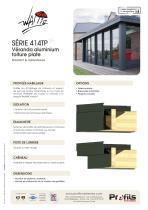 Véranda aluminium Wallis® à toiture plate - 2