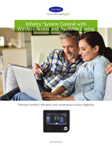 Infinity® System Control with Wireless Access and Available Zoning