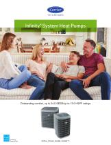 Infinity®System Heat Pumps