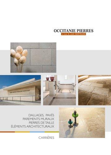 Borchure Occitanie Pierres 2020