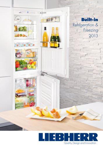 Built-in Refrigeration & Freezing 2013