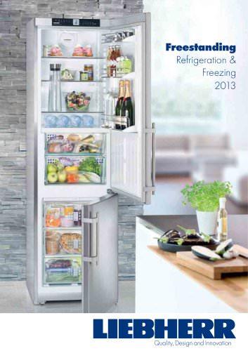 Freestanding Refrigeration & Freezing 2013