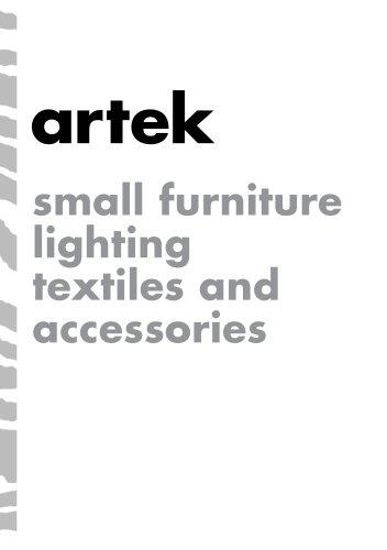 Artek Accessories Catalogue_2016