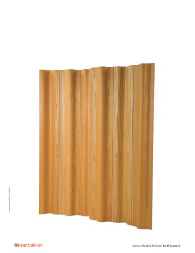 Eames Molded Plywood Folding Screen Product Sheet
