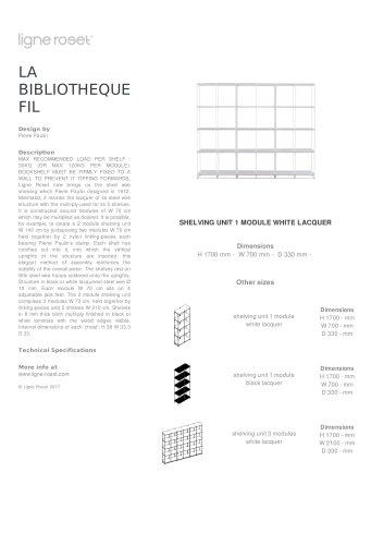 LA BIBLIOTHEQUE FIL