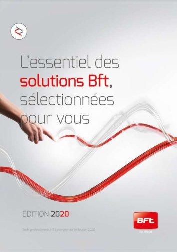 L'essentiel des solutions Bft sélectionnées pour vous EDITION 2020