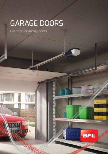GARAGE DOORS - Operator for garage doors