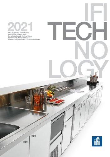 Ifi Technology | Bar Counters & Back Bases