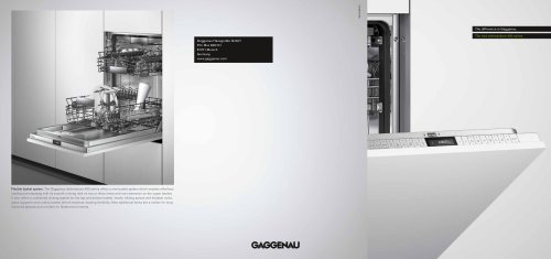 The new dishwasher 400 series