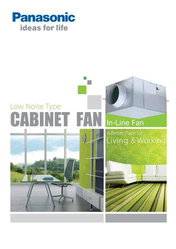 Low Noise Type CABINET FAN