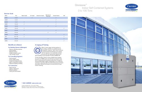 OMNIZONE? Indoor Self-Contained Systems