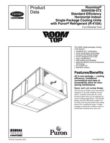 Roomtop® 50AH036-072