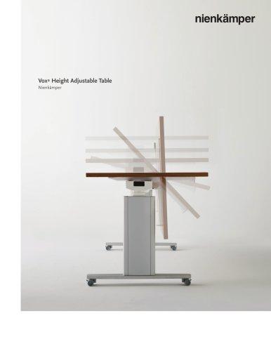 Vox Height Adjustable Table