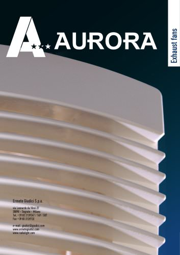 Exhaust fans catalogue
