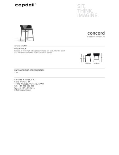 Concord 521BM65