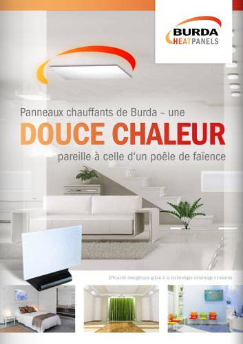Catalogue BURDA HEATPANELS