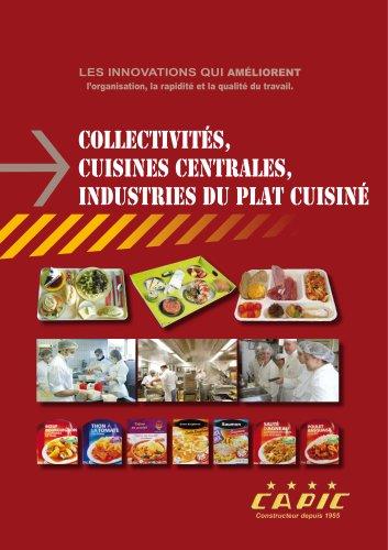 Collectivités, cuisines centrales