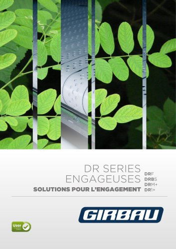 DR Series solution pour l'engagement