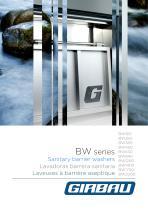 Laveuses à barrierè aseptique BW - 1