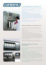 Laveuses à barrierè aseptique BW - 5