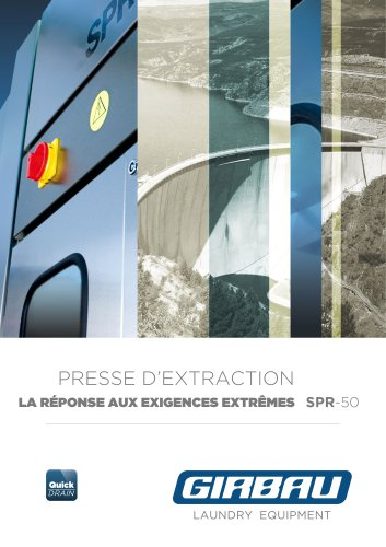 Presse d'extraction SPR-50